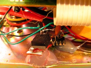 Ringer MOSFET Circuit