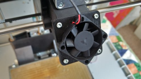 Layer Cooling Fan Installed