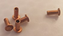 Copper Rivets For Touch Input