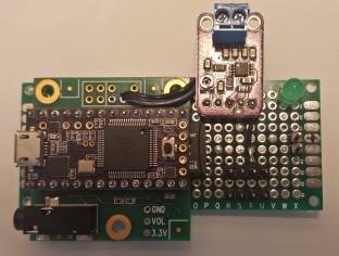 Assembled PCB front