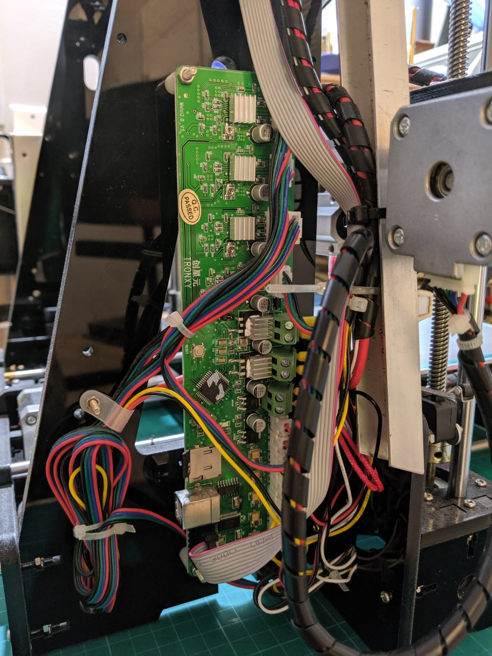 Tronxy P802M: Controller Upgrade to 32 bits – SD Perry